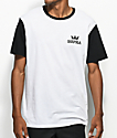 Supra Crown Two Toned White & Black T-Shirt