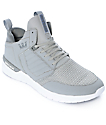 Supra Method Grey Nubuck Shoes