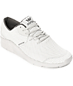 Supra Noiz Mono Light Grey Embossed & Knit Shoes