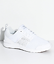 Supra Scissor White & Gum Knit Shoes