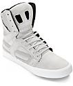 Supra Skytop II Light Grey & White Skate Shoes