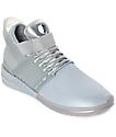 Supra Skytop V Grey Skate Shoes