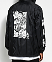 Swallows & Daggers x Rose Whittaker King Black Hooded Jacket