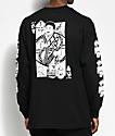 Swallows & Daggers x Rose Whittaker King Black Long Sleeve T-Shirt