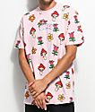 Teenage Spring All Over Pink T-Shirt