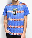 Teenage TV Eye Blue Tie Dye T-Shirt