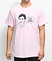 The Bad Dads Club Dad Jokes Pink T-Shirt