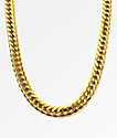 The Gold Gods Cuban Link Necklace
