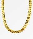 "The Gold Gods Flat Edge 30""  Cuban Link Necklace"
