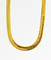The Gold Gods Herringbone Chain