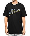 The Hundreds Chrome Slant Black T-Shirt