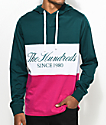 The Hundreds Ellis Hooded Deep Teal Long Sleeve T-Shirt