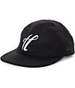 The Hundreds Meaning Black New Era Strapback Hat