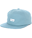 The Hundreds Script Pale Turquoise Snapback Hat