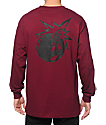 The Hundreds Simple Adam Long Sleeve T-Shirt