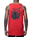 The Hundreds Simple Adam Red Tank Top