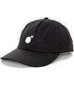 The Hundreds Solid Bomb Black Strapback Hat
