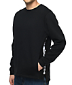 The Hundreds Valley Black Crewneck Sweatshirt