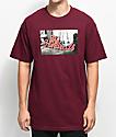 The Hundreds Wearhouse Burgundy T-Shirt
