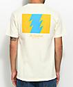 The Hundreds Wildfire Cream T-Shirt
