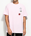 The Hundreds x Roger Rabbit Make Up Pink T-Shirt