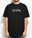 The Hundreds x Roger Rabbit Weasels Black T-Shirt