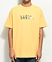 The Hundreds x Roger Rabbit Weasels Light Orange T-Shirt
