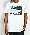 The Lost & Found Sunset Cruise White T-Shirt