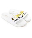 The White Brand Friday Slide Women's Sandals