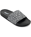 The White Brand Multi Glitter Slide Women's Sandals