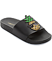 TheWhiteBrand Pineapple Patch Slide Women's Sandals