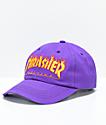 Thrasher Flame Purple Old Timer Hat