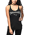 Thrasher Girl Mag Logo Black Tank Top