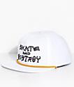 Thrasher Skate And Destroy White Snapback Hat