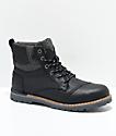 Toms Ashland Black Leather Boots