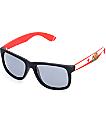 Townie CA State Flag Black Sunglasses