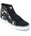 Toy Story x Vans Sk8 Hi Buzz Lightyear Black Shoes