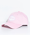 Trap Lord Crest Pink Strapback Hat