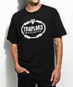 Traplord Crest Worldwide Black T-Shirt