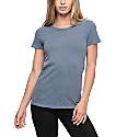 Trillium Lisa Dark Blue Destroyed T-Shirt