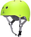 Triple Eight Sweatsaver Zest Rubber Skateboard Helmet