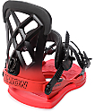 Union Contact Pro Volt Red Snowboard Bindings