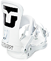 Union Force White Snowboard Bindings
