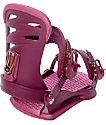 Union Womens Juliet Burgundy Snowboard Bindings