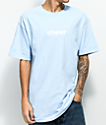 Utmost Co. Solid Logo Light Blue T-Shirt