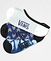 Vans 3 Pack Heart Checker Canoodle No Show Socks