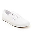 Vans Authentic Lo Pro White Shoes (Womens)