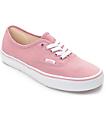 Vans Authentic Zephyr & White Shoes (Womens)