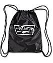 Vans Benched League Black & White Cinch Bag