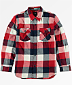 Vans Boys Box Chili Pepper Flannel Button Up Shirt